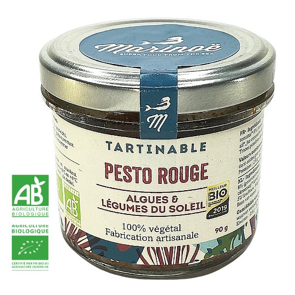 PESTO ROUGE AUX ALGUES MARINES Pesto Rouge aux Algues Marines