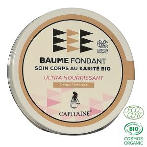 BAUME FONDANT BIO - ULTRA NOURRISSANT ENRICHI EN BEURRE DE KARITÉ BIO-(90g)