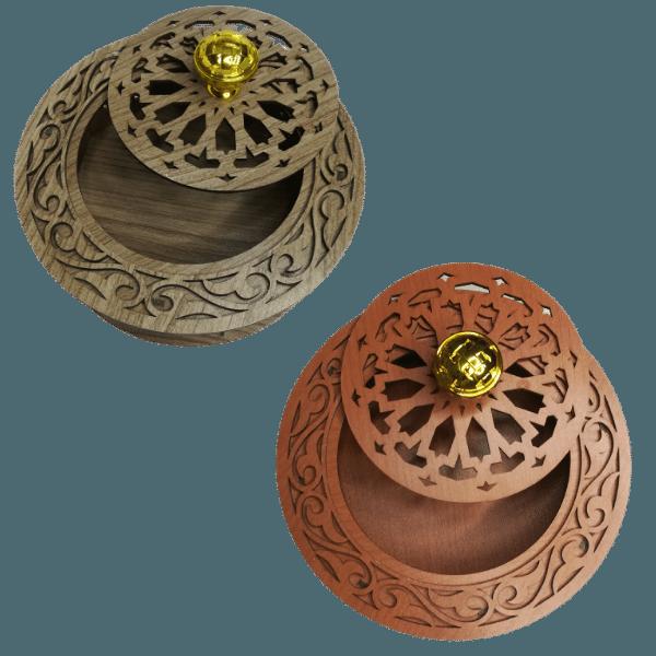 boite artisanale ronde